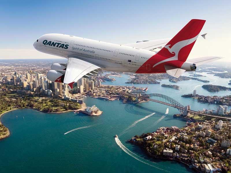 Flyg till Australien - Destination Australien
