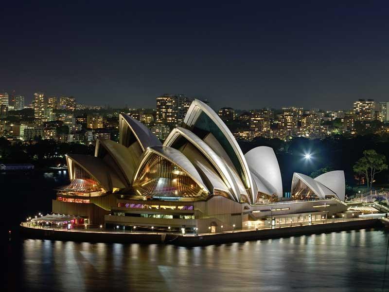 Operahuset i Sydney - Destination Australien